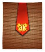 Donkey Kong Fleece Blanket
