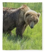Don't Mess With Mama Bear Fleece Blanket