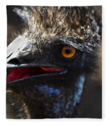 Dont Mess With The Emu Fleece Blanket