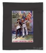 Don't Read American History- Make It Fleece Blanket