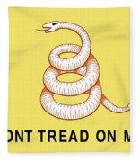 Don't Tread On Me Fleece Blanket