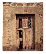 Door #3 Fleece Blanket