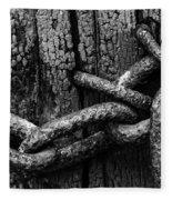Door Chain Fleece Blanket