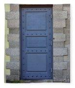 Door With No Handle Fleece Blanket