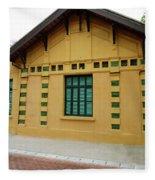 doors and windows Officialcolors Fleece Blanket