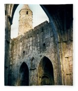 Doorways To The Cashel Castle Fleece Blanket