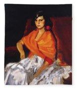 Dorita 1923 Fleece Blanket