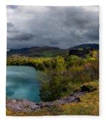 Dorothea Quarry Panorama Fleece Blanket