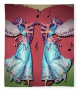 Double Angel Fleece Blanket