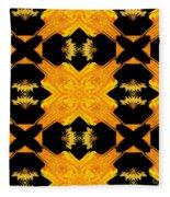 Double Crossed Fleece Blanket