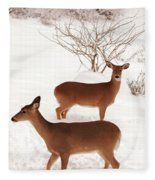 Double Trouble Fleece Blanket