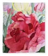 Double Tulip Fleece Blanket