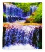 Double Waterfall Fleece Blanket