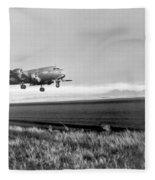 Douglas C-54 Skymaster, 1940s Fleece Blanket