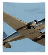 Douglas Dc-3 Rose At Hawthorne Fleece Blanket