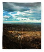 Down The Road Fleece Blanket