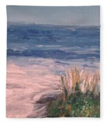 Down The Shore Fleece Blanket