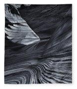 Down The Slide Fleece Blanket