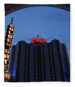 Down Town Las Vegas Fleece Blanket