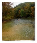 Downstream Fleece Blanket