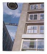 Downtown Berlin Fleece Blanket