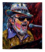 Dr. John Portrait Fleece Blanket
