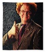 Dr. Steve Brule Fleece Blanket
