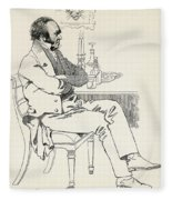 Dr. William Dunlop, 1792 Fleece Blanket