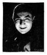 Dracula In The Shadows Fleece Blanket