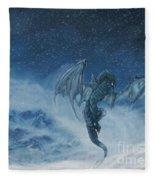 Dragon Born. Fleece Blanket