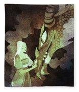 Dragon Princess Fleece Blanket