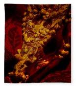 Dragon Skull Fleece Blanket
