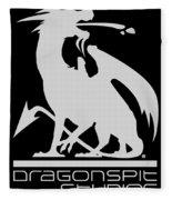 Dragon Spit Studios Logo Fleece Blanket