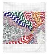 Dragon Tamer Fleece Blanket