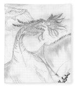 Dragon V. Fleece Blanket