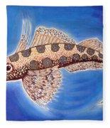 Dragonet Fish Fleece Blanket