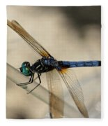 Dragonfly Abstract Fleece Blanket