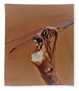 Dragonfly Beauty Fleece Blanket