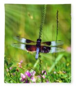 Dragonfly Delight Fleece Blanket