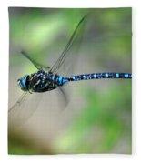 Dragonfly In Flight 2 Fleece Blanket