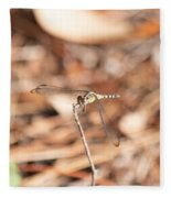 Dragonfly Karaoke Fleece Blanket