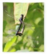 Dragonfly Love Fleece Blanket
