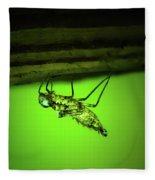 Dragonfly Nymph Fleece Blanket