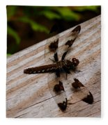 Dragonfly Spots Fleece Blanket