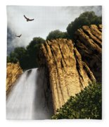 Dragons Den Canyon Fleece Blanket