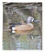 Drake Blue Wing Fleece Blanket