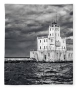 Drama In The Clouds Fleece Blanket