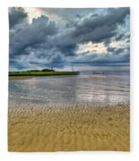 Dramatic Cloudscape Fleece Blanket
