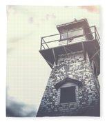 Dramatic Lighthouse Fleece Blanket