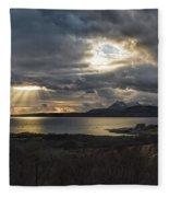 Dramatic Skye Fleece Blanket